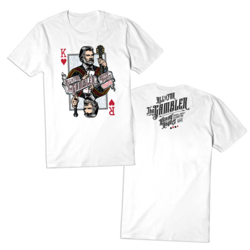 kenny rogers white t-shirt