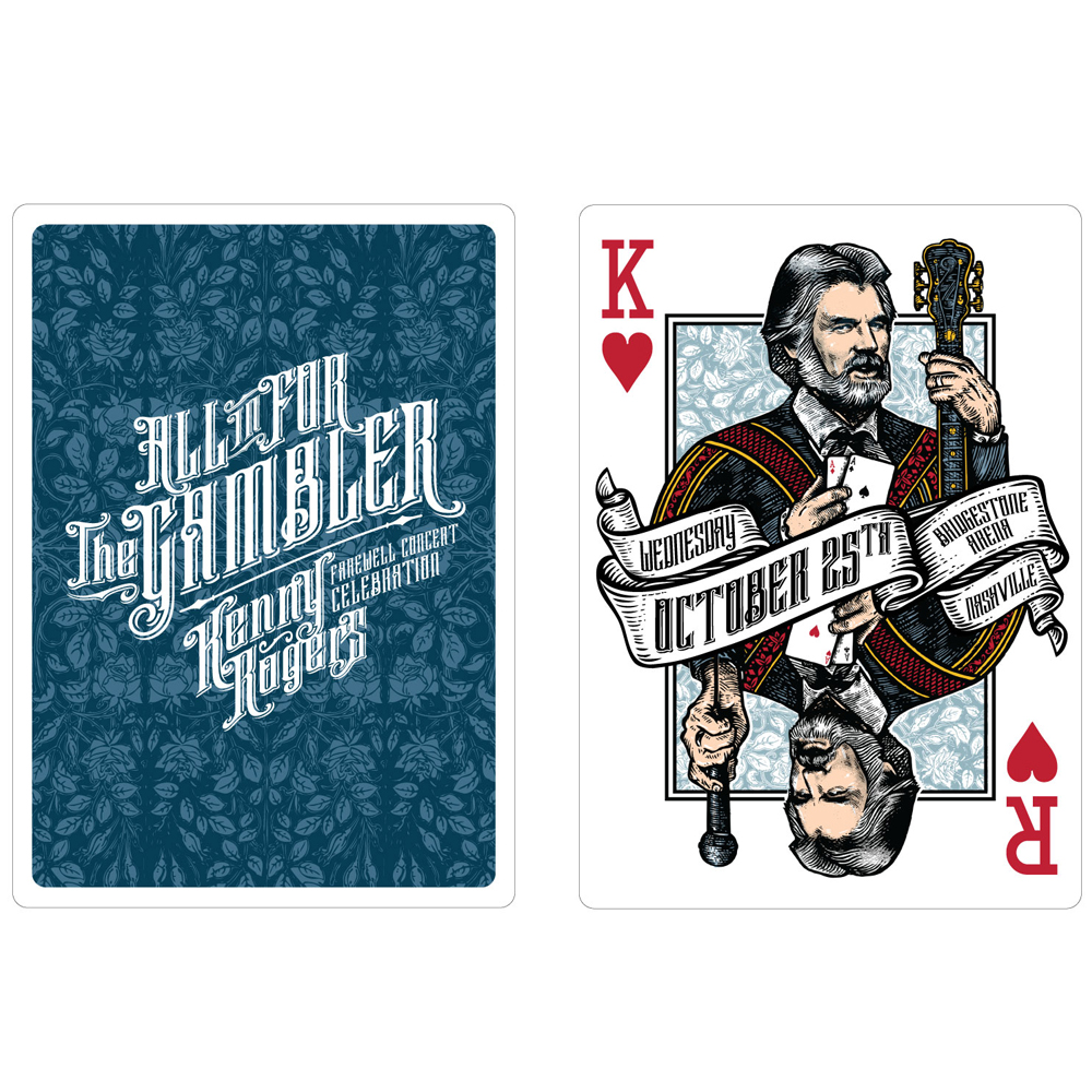 kenny rogers playing cards