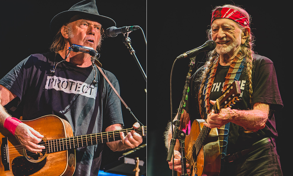 neil young willie nelson