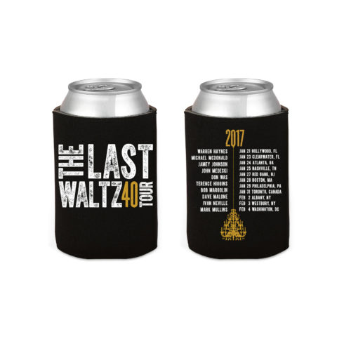 Last Waltz Tour Koozie