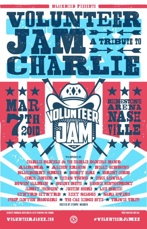 volunteer jam xx gig poster