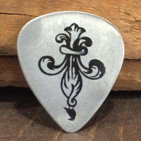 exile on bourbon st guitar pick