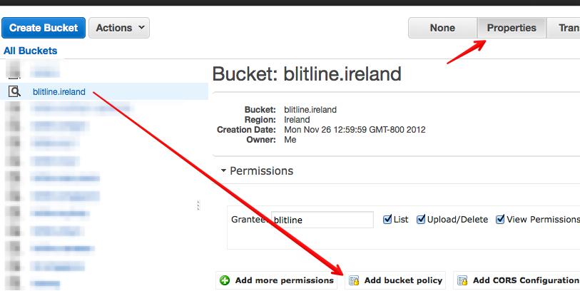 """""""Bucket Properties"""""""