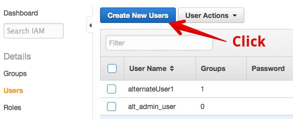 Create User