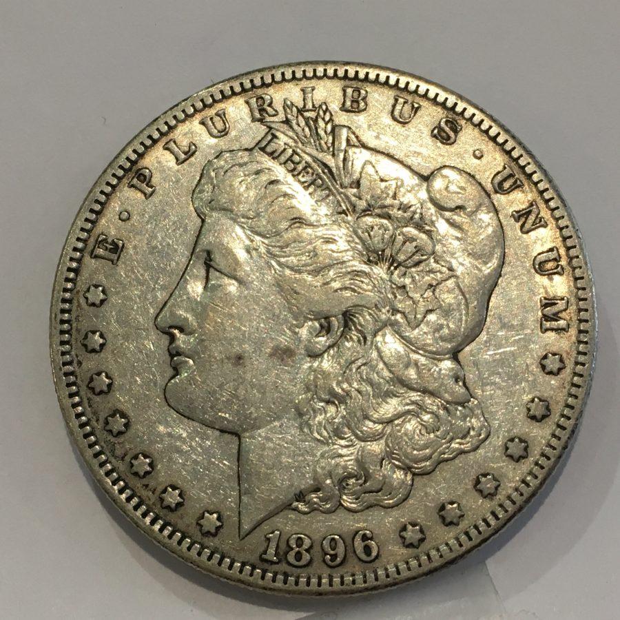 1896-S Morgan Silver Dollar $1 Rare U.S. Coin Extra Fine/Almost Uncirculated