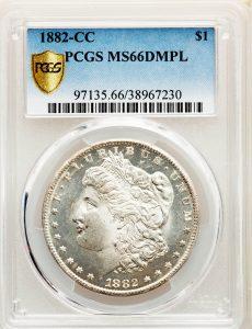 1882-CC $1 Morgan