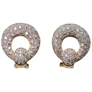 Post Diamond Earrings