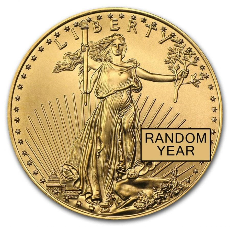1/2 oz American Gold Eagle BU