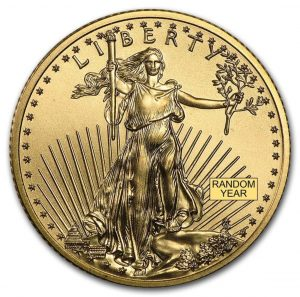 1/4 oz American Gold Eagle BU
