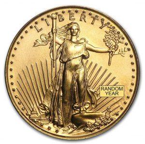 1/10oz American Gold Eagle BU