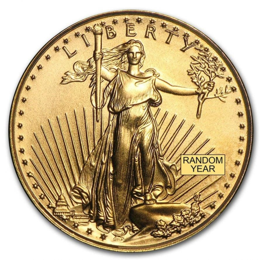 1/10oz American Gold Eagle BU