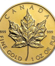 1oz Gold Maple Leaf