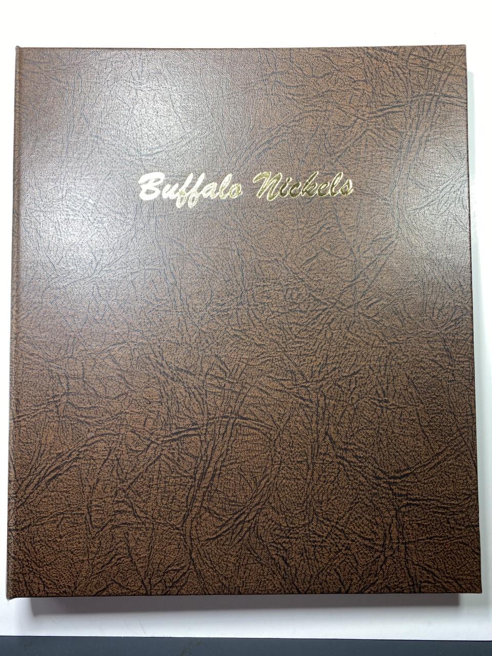 BUFFALO NICKELS DANSCO 7112 COIN ALBUM U.S
