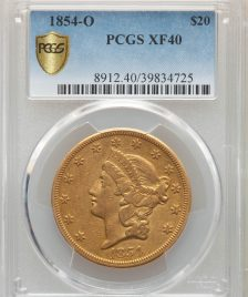 1854-O $20 Liberty Head Eagle