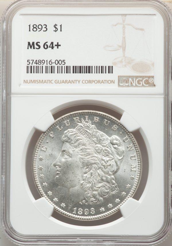 1893 $1 Morgan Dollar
