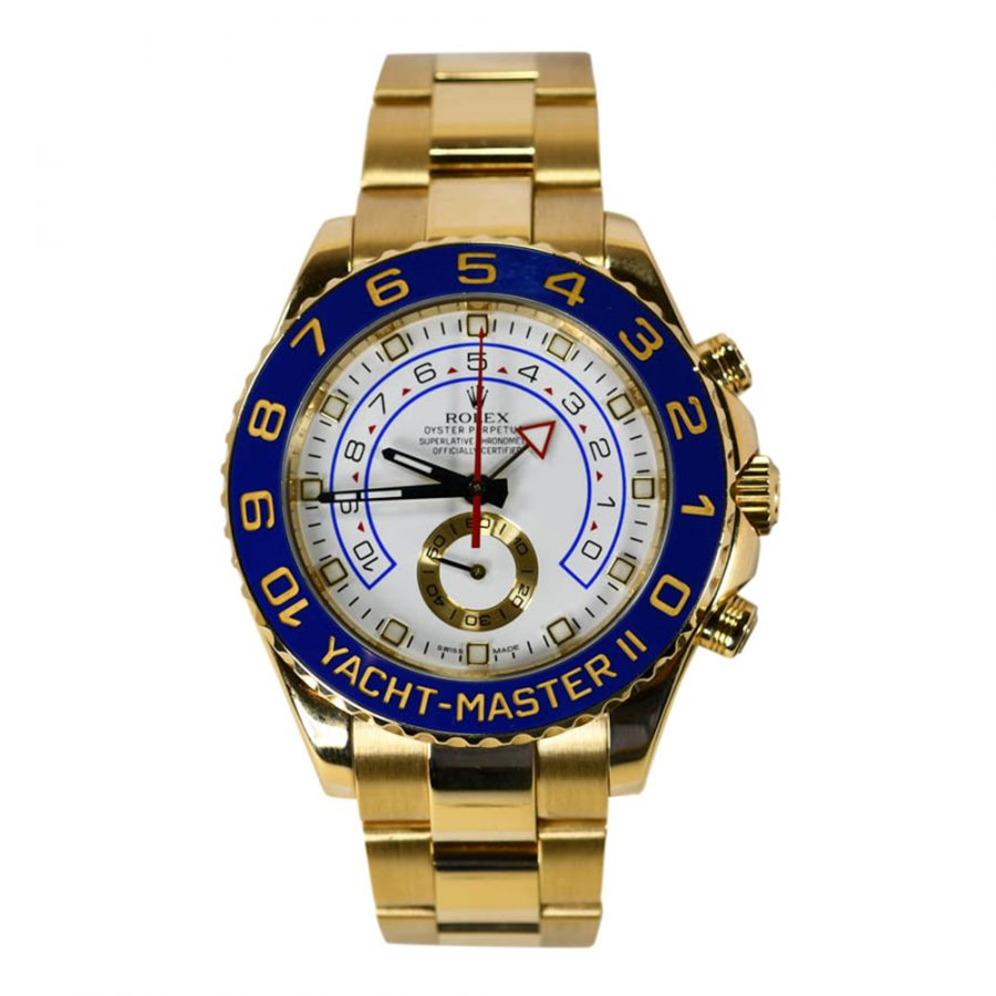 Rolex 18K Yellow Gold Mens Yachtmaster 2