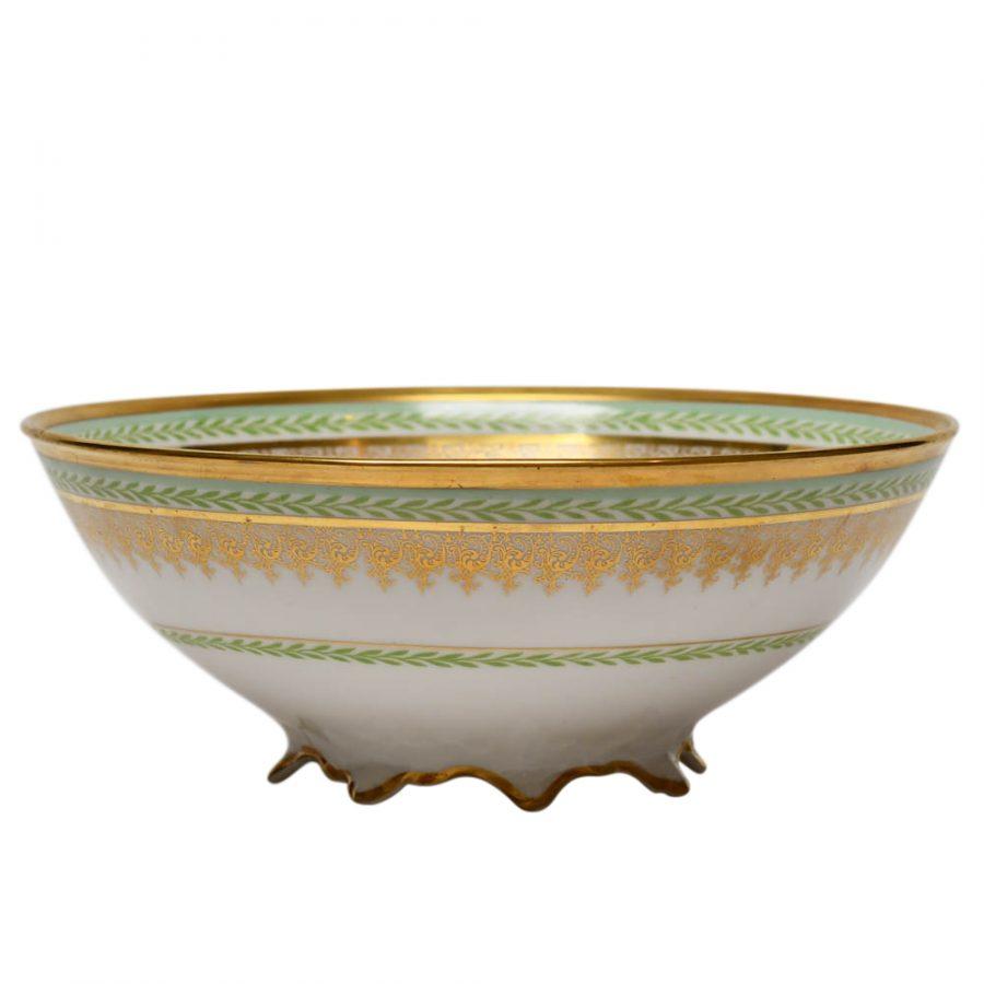 French Limoges Coronet Large Bowl
