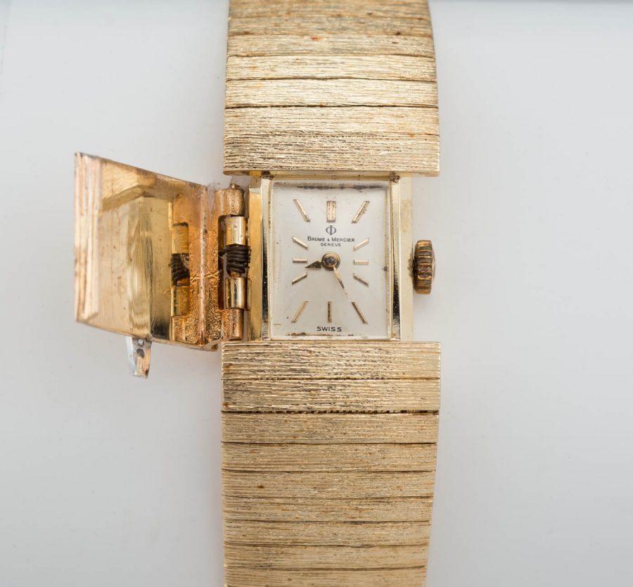 14k Yellow Gold Vintage Baume Mercier watch 51.7g