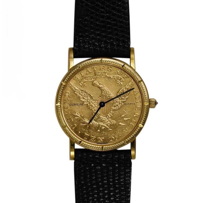 Corum 1906-S $10 Liberty Ladies Watch, Original Leather Case