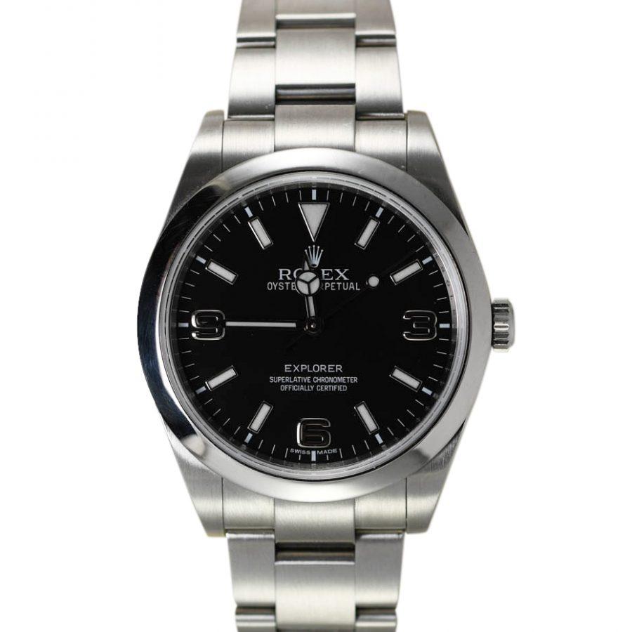 Men's Stainless Rolex Watch Explorer