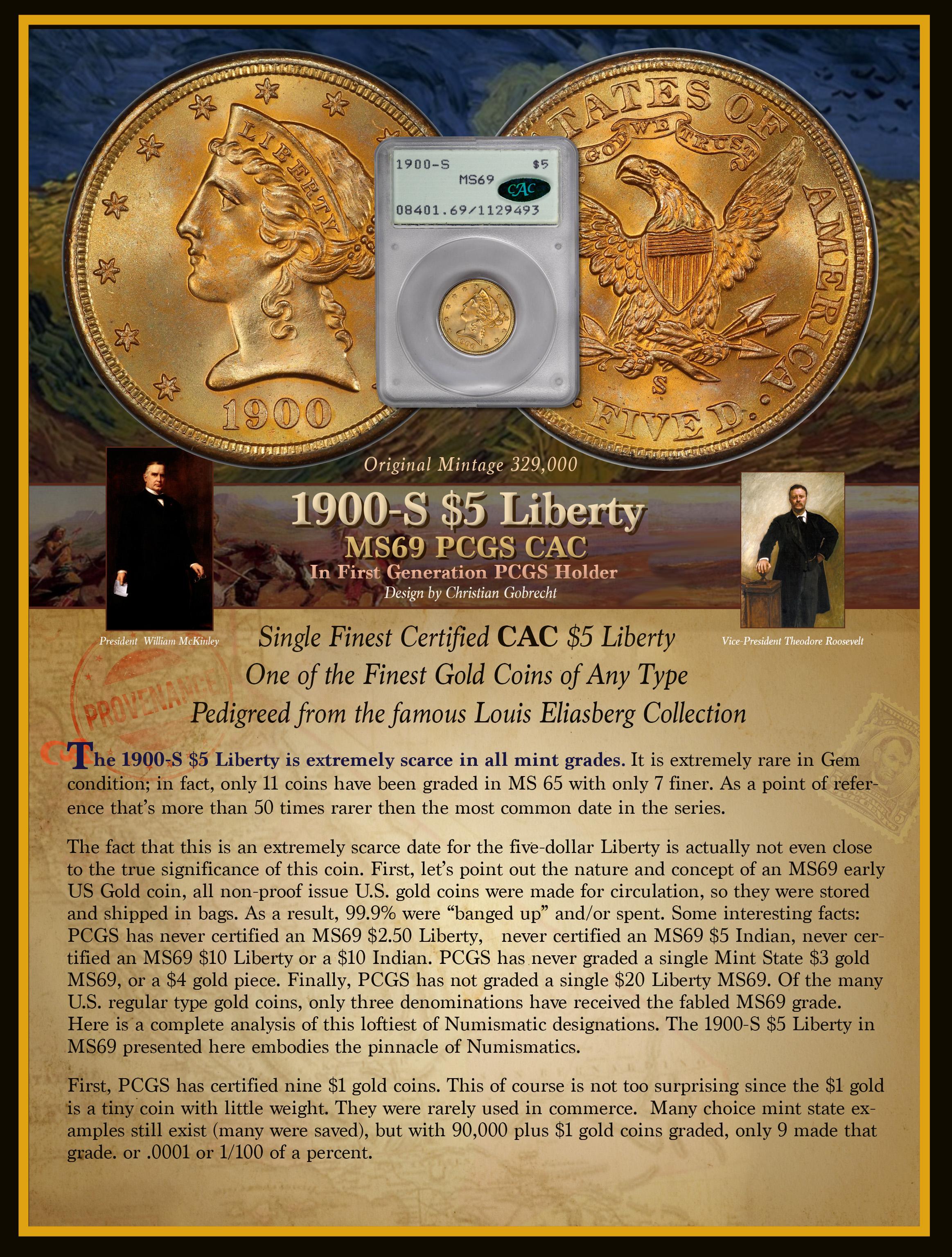 1900-S $5 Half Eagle