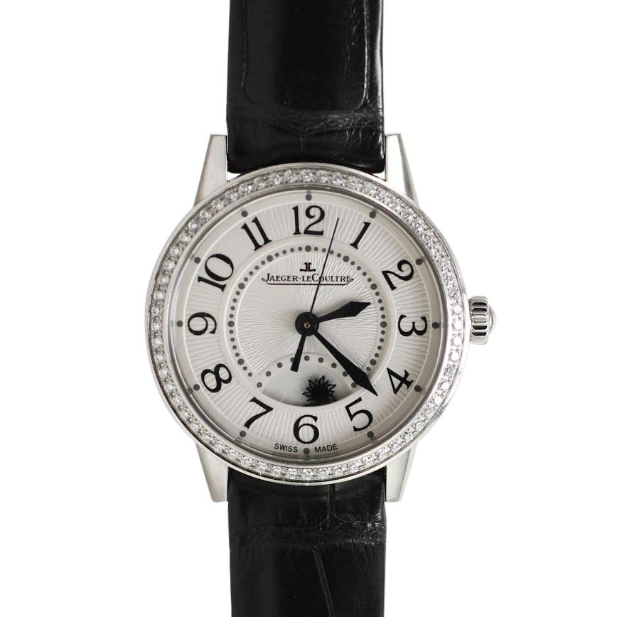SS Ladies Juegar Le Coultre Rendez Vous Automatic Watch, Diamond Bezel