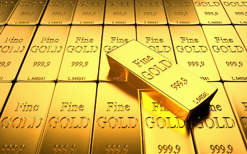 Gold On Pace For Fourth Straight Weekly Gain