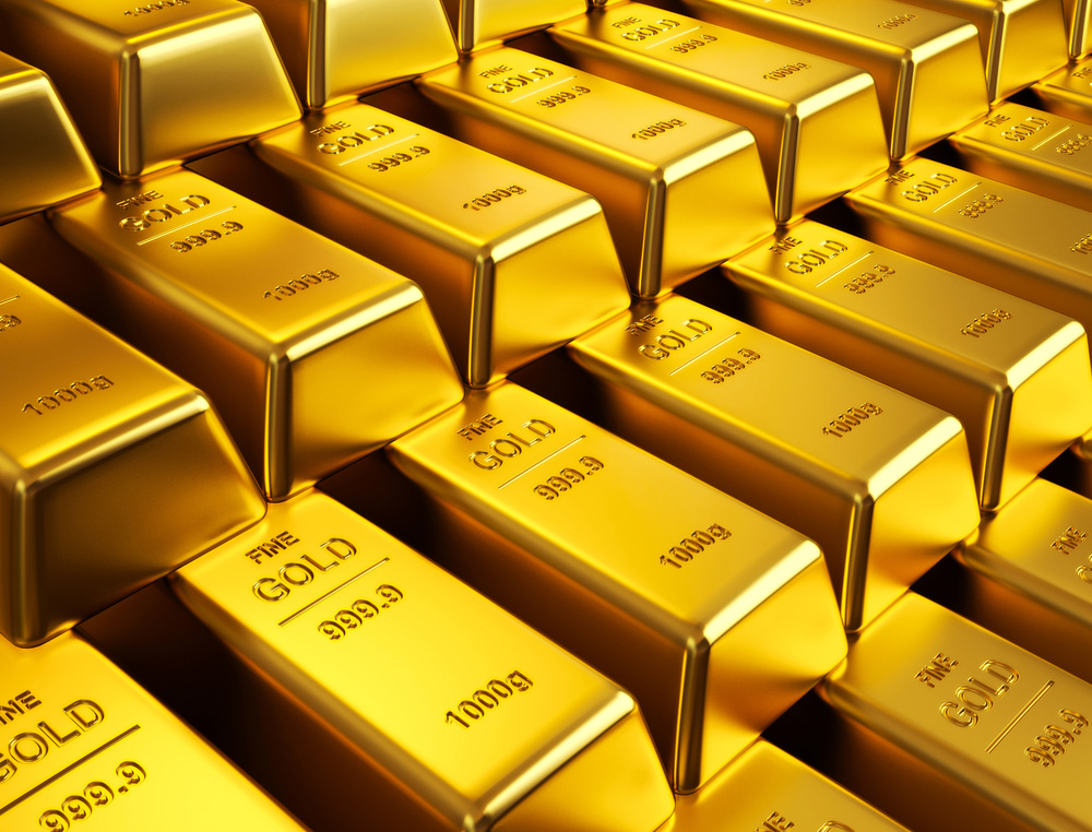 Gold Extends Gains As DOW hits 25000