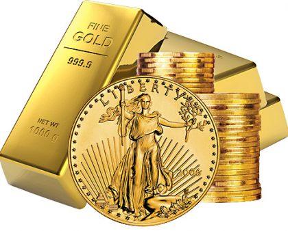 Gold Up 8 Percent First Quarter