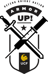 Get Vaccinated. Defend Knight Nation. Armor Up, UCF.