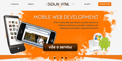Web dizajn kodiranje