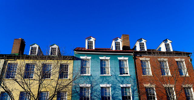 picture of houses in old town alexandria