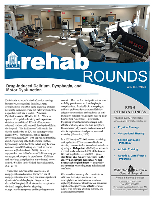 Rehab Rounds Spring 2018