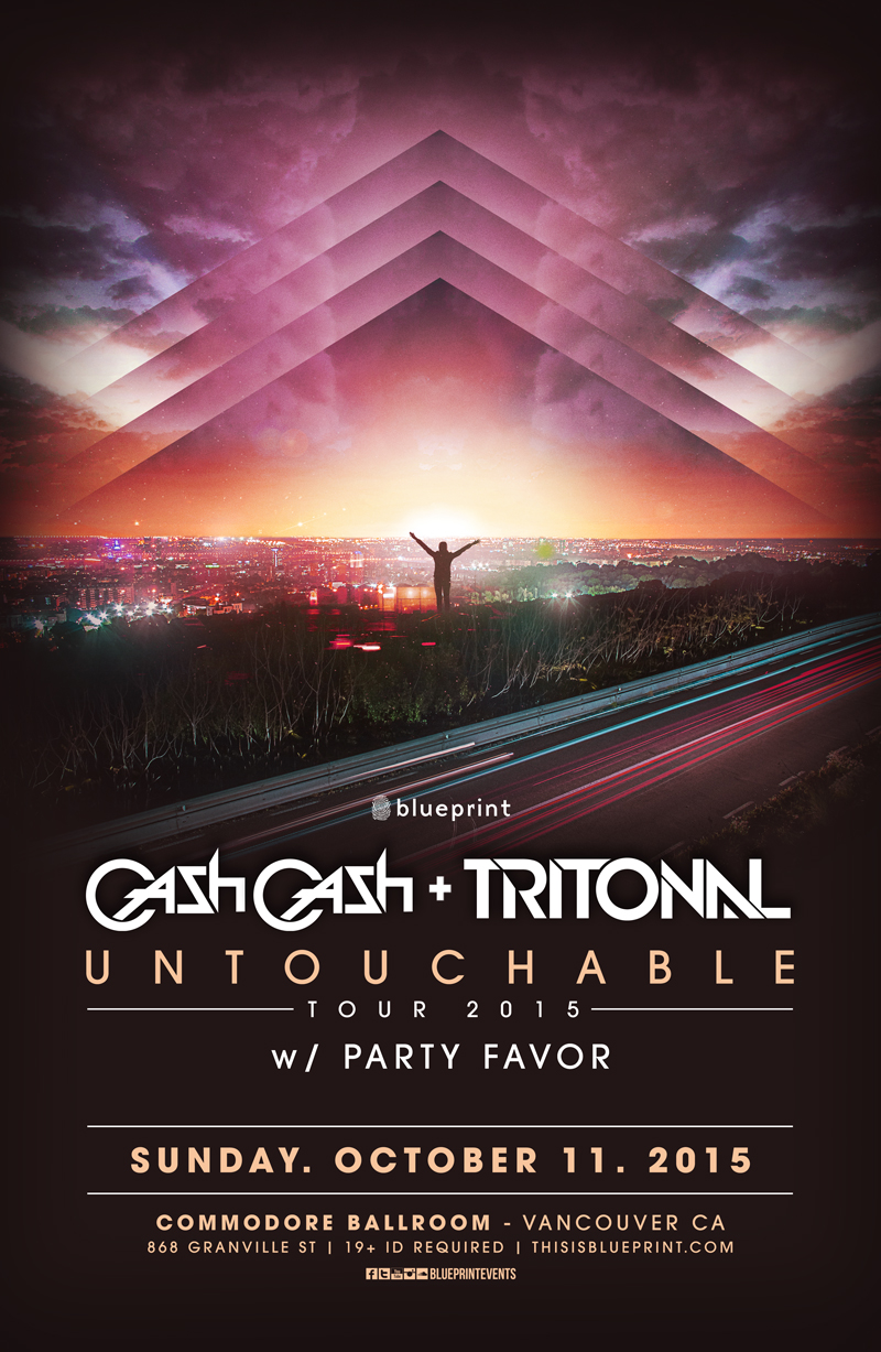 Blueprint events cash cash tritonal w party favor commodore purchase tickets malvernweather Gallery