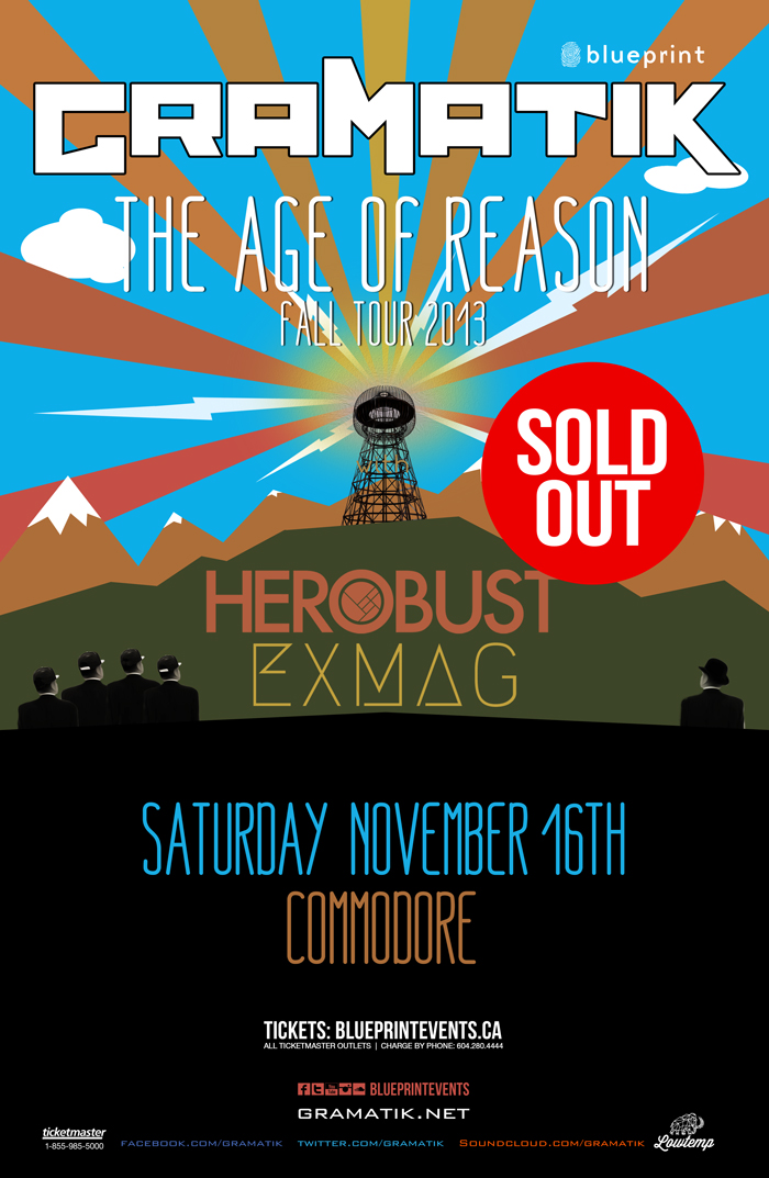 Blueprint events sold out gramatik w herobust exmag age of sold out gramatik w herobust exmag age of reason tour commodore malvernweather Image collections