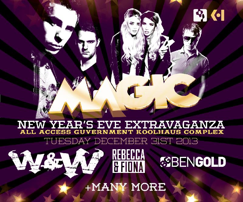MAGIC NYE 2014