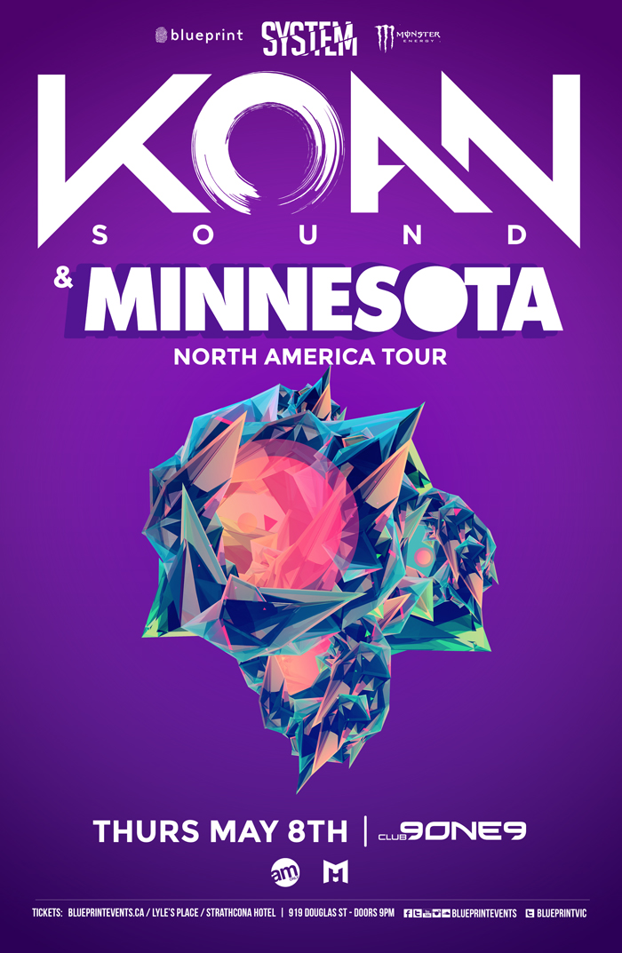 Blueprint events koan sound w minnesota systemvic club 9one9 performing artists click on artist for reviews and previews malvernweather Image collections