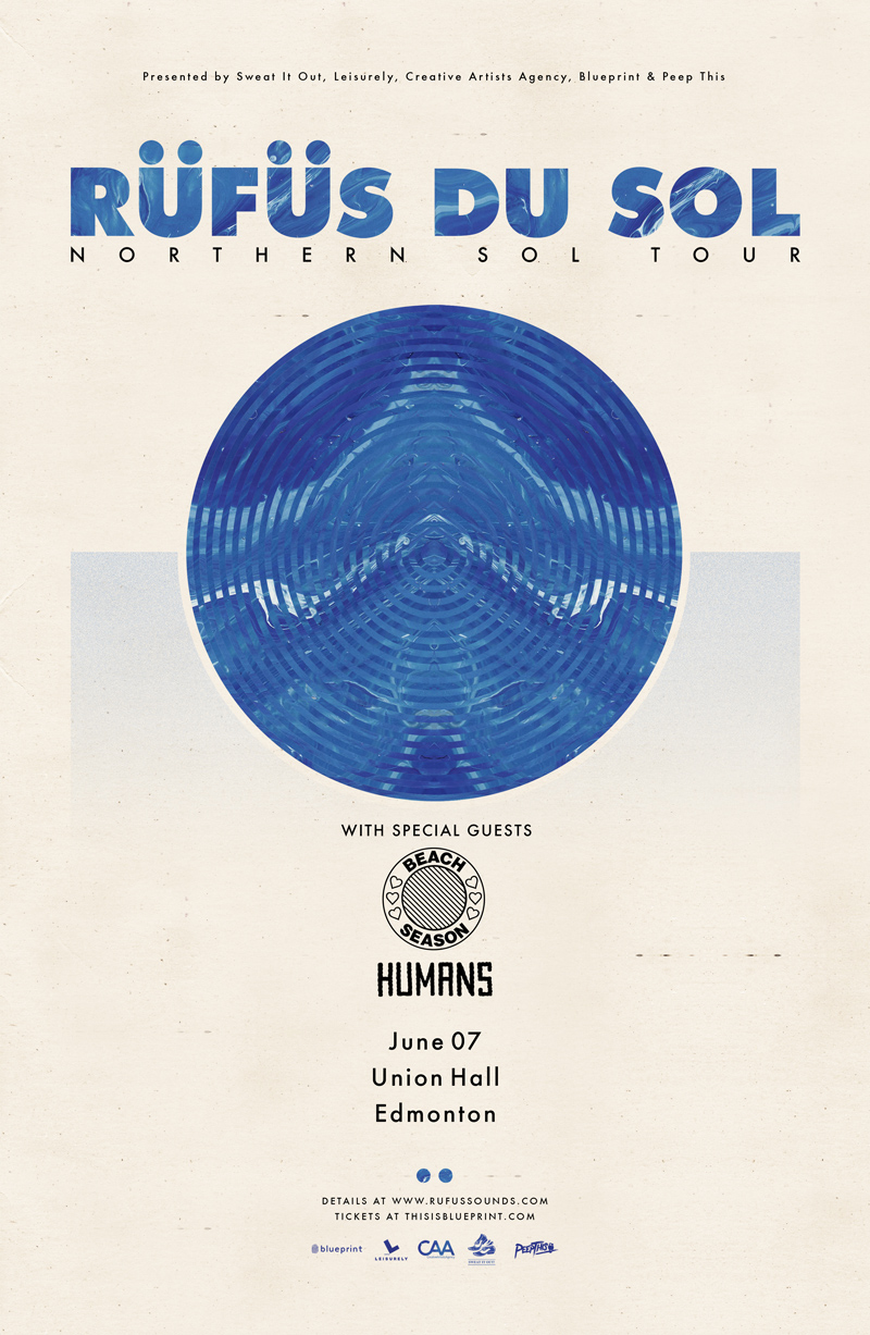 Blueprint alberta rfs du sol northern sol tour union hall purchase tickets malvernweather Image collections