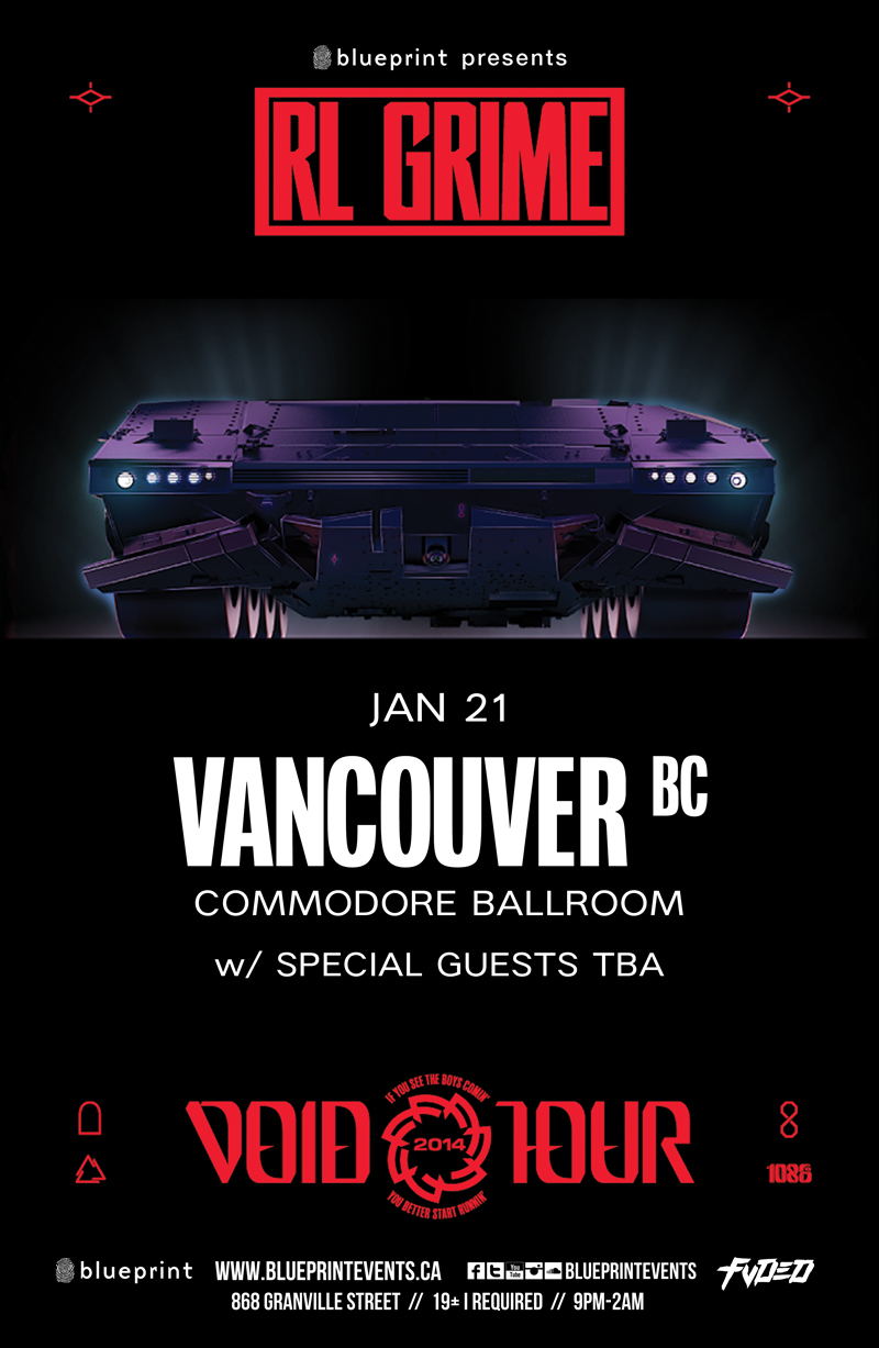 Blueprint events rl grime commodore purchase tickets malvernweather Choice Image