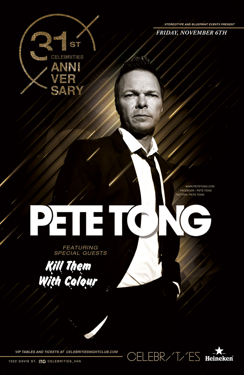 Blueprint events pete tong celebs31yr anniversary pete tong celebs31yr anniversary stereotypefridays celebrities malvernweather Images