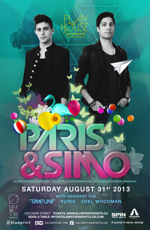 Celebrities Nightclub :: PARIS & SIMO :: #CelebsPLAYHOUSE ...