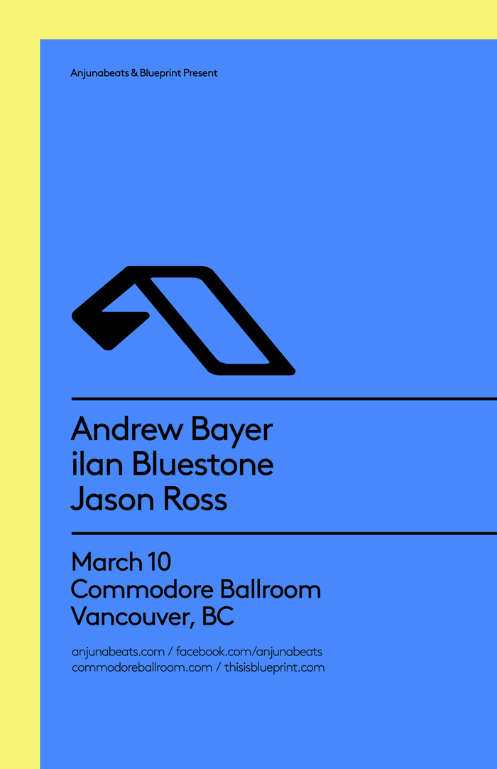 Blueprint events anjunabeats commodore purchase tickets malvernweather Images