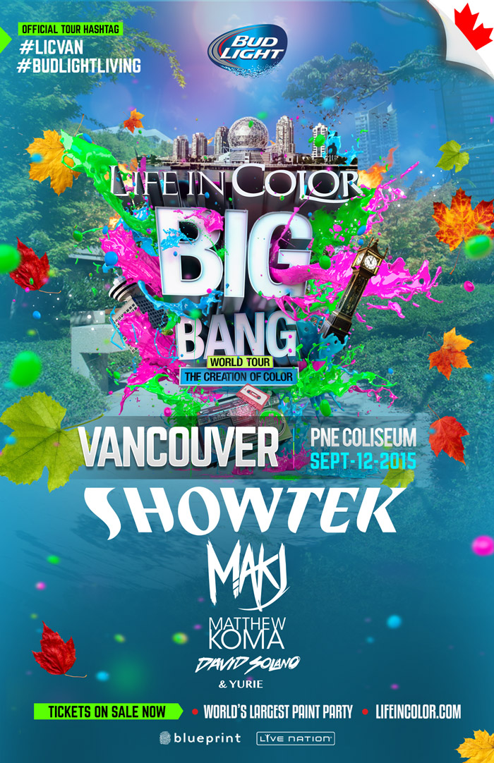 Blueprint events life in color big bang world tour pacific life in color big bang world tour pacific coliseum malvernweather Choice Image