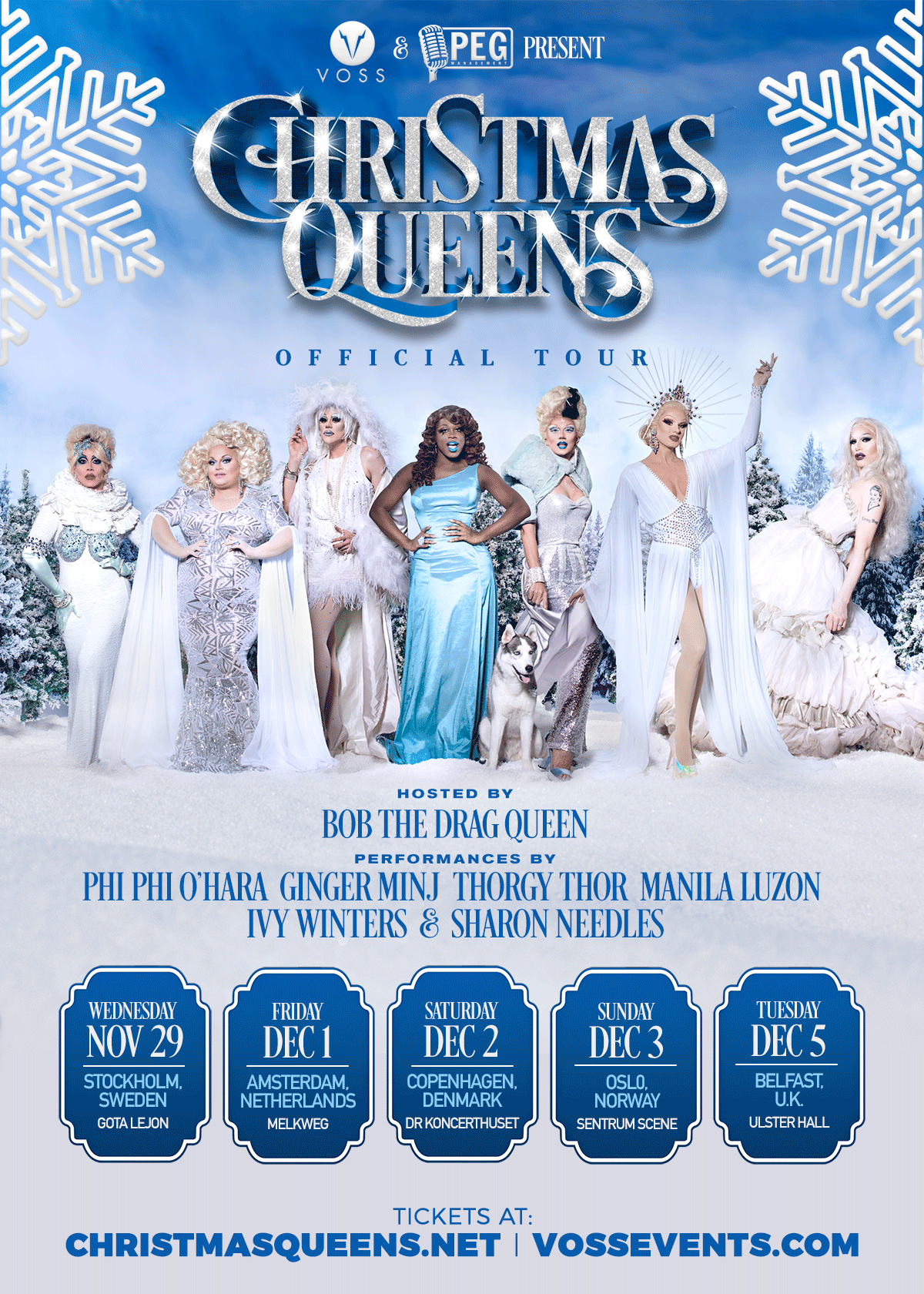 Christmas Queens.Christmas Queens Amsterdam Voss Events Eur