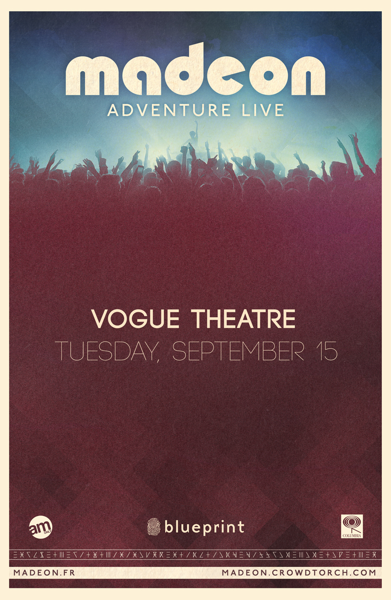Blueprint events madeon fall tour vogue theatre purchase tickets malvernweather Image collections