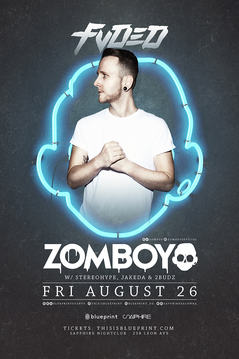 Blueprint events zomboy fvded sapphire nightclub kel purchase tickets malvernweather Choice Image
