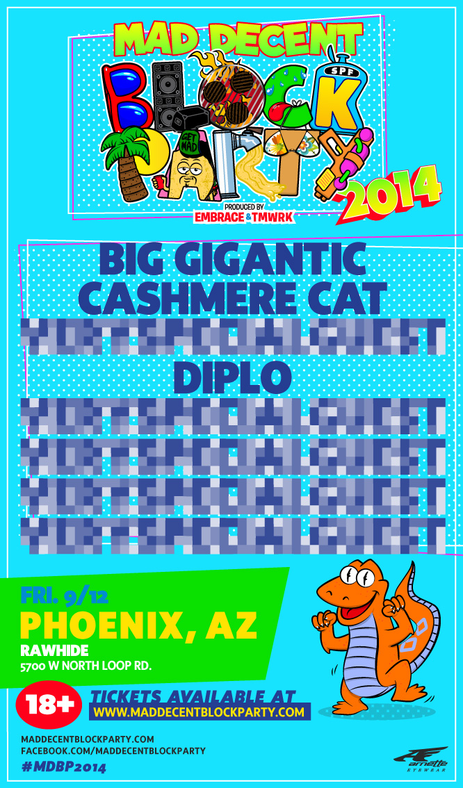 Mad Decent Block Party AZ  Rawhide