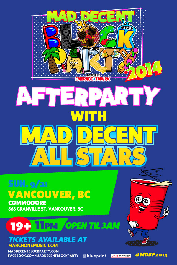 Blueprint events mad decent after party commodore mad decent after party commodore malvernweather Image collections