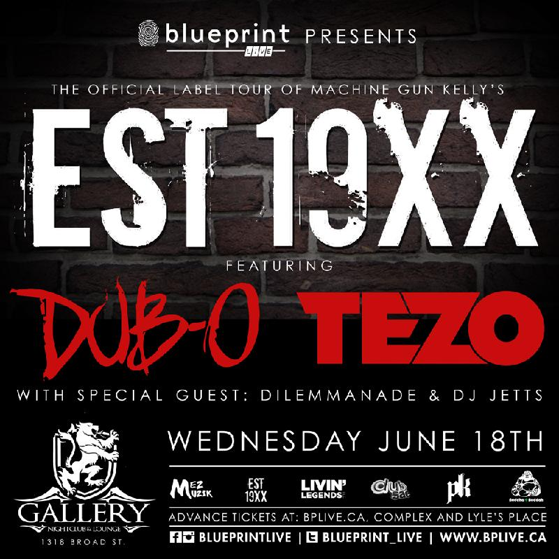 Blueprint events est 19xx ft dub o tezo blueprintlive purchase tickets malvernweather Image collections