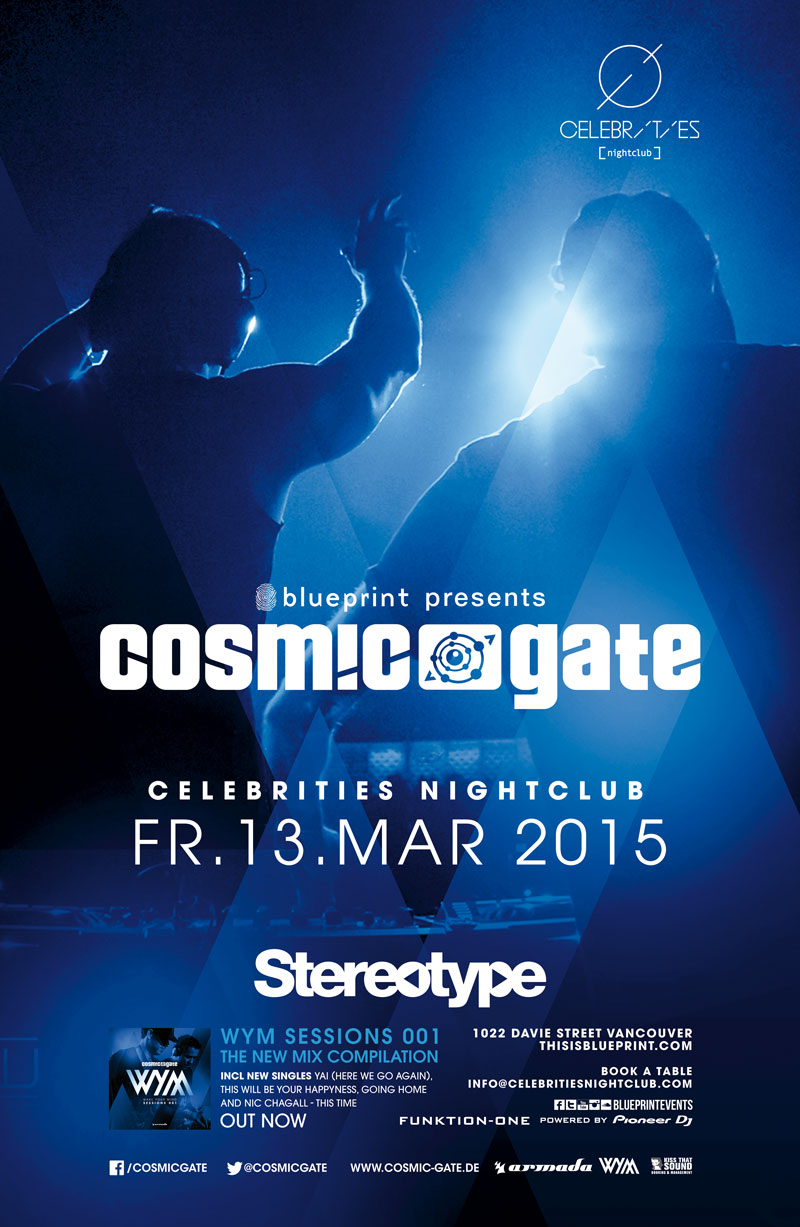 Blueprint events cosmic gate stereotypefridays celebrities cosmic gate stereotypefridays celebrities malvernweather Image collections